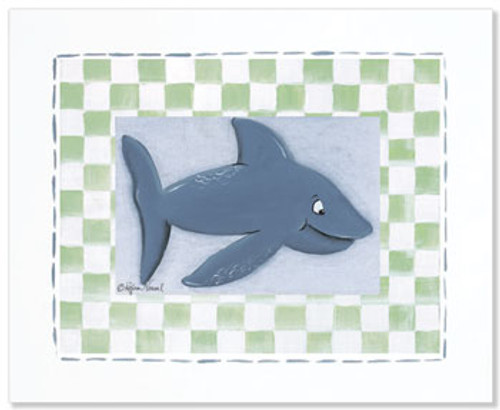 Dolphin Framed Print