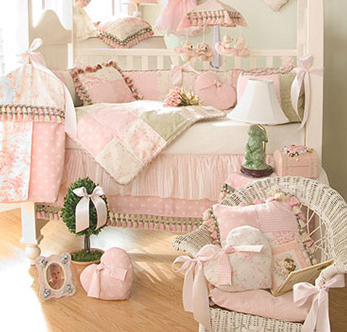 Isabella 4-Piece Crib Bedding Set
