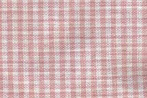 Isabella Pink Check Fabric