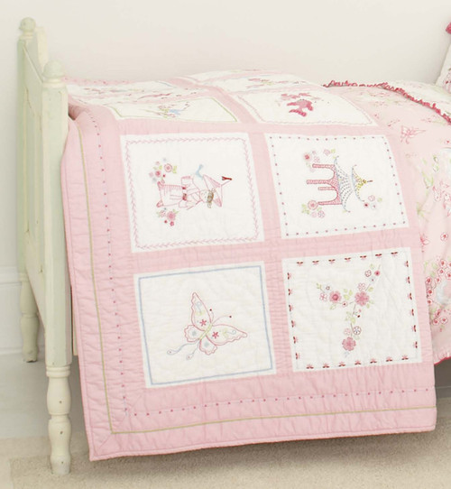 Pink Pagoda Quilt