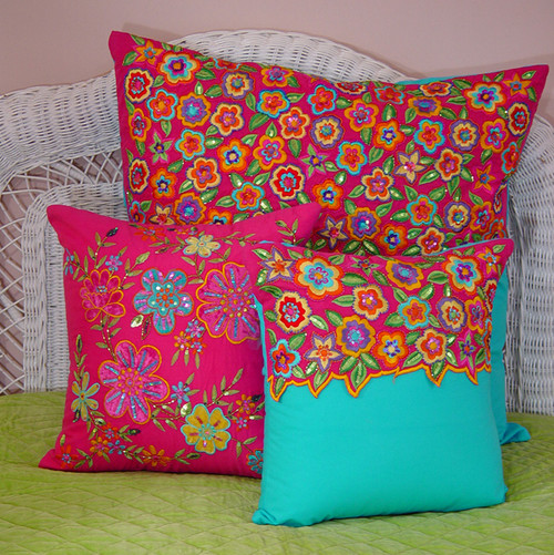 Bright Bed Pillows