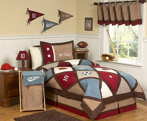 All Star Boys Bedding Set
