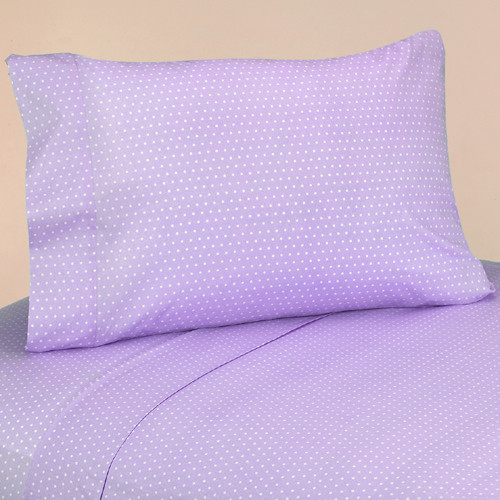 Mod Dots Purple Sheet Set