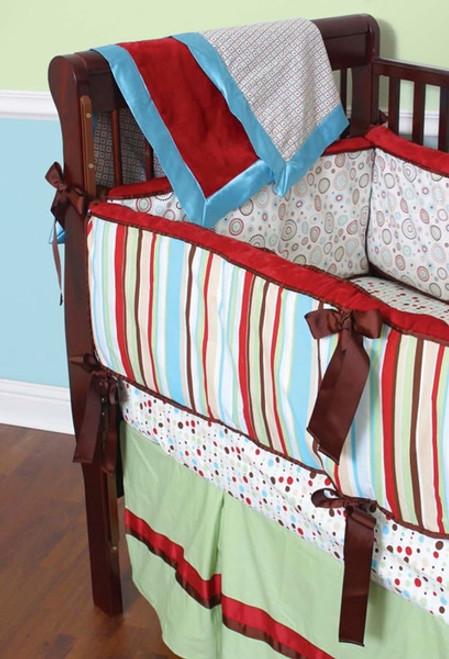 Carey 3 Piece Crib Bedding Set