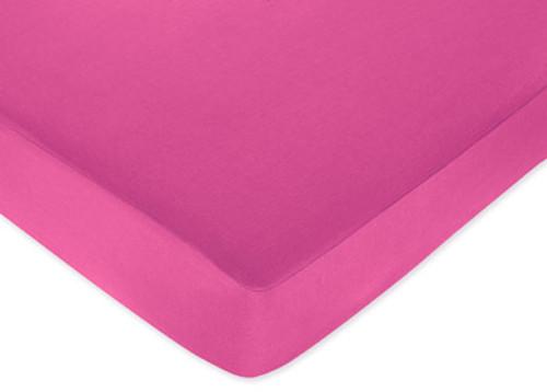 Isabella Pink Crib Sheet-Pink