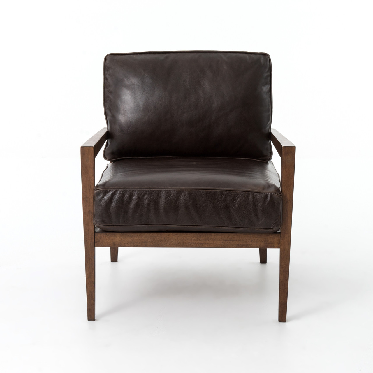 laurent wood frame accent chair - Wood Frame Accent Chairs
