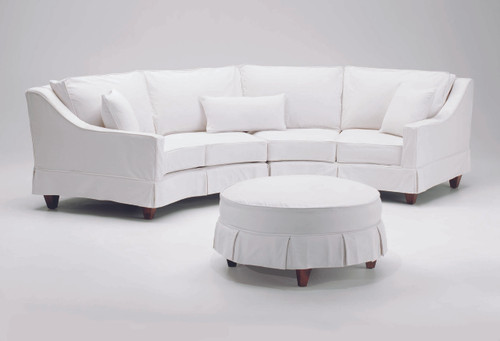 Diamond Sectional with Slipcover