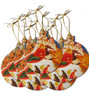 Nativity Icon Acrylic Christmas Ornaments- Set of 10