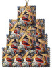 Nativity Icon Square Acrylic Christmas Ornament- Set of 10