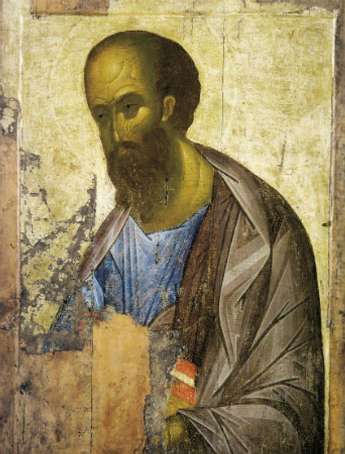 St. Apostle Paul Icon (Rublev)