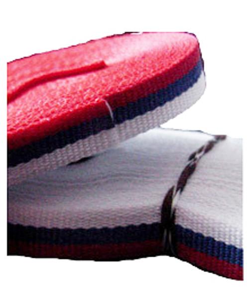 "Tri-Colored Trobojka Ribbon- 3/8"" W (five meter length)"