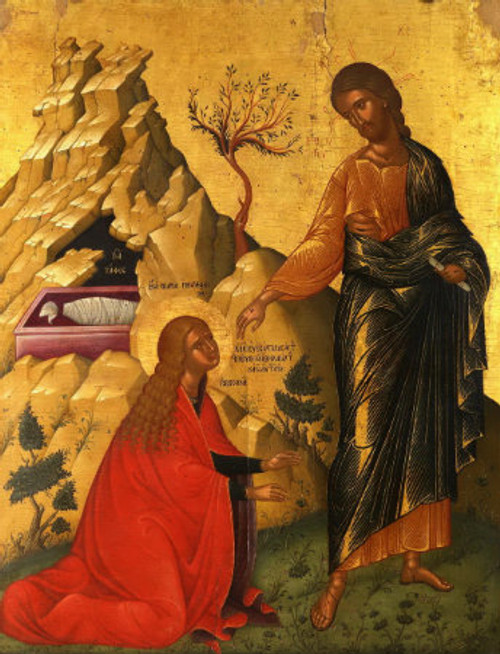 Resurrection of Christ Icon- (Do Not Touch Me)