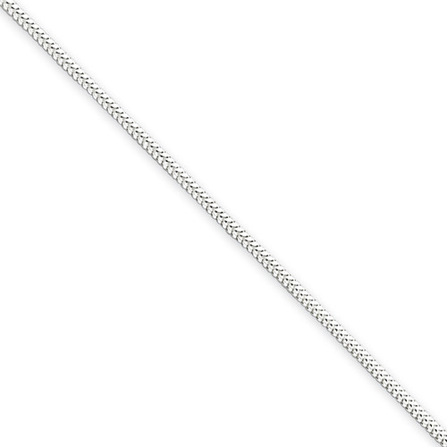 Sterling Silver 1.2mm Round Snake Chain- Variable Lengths