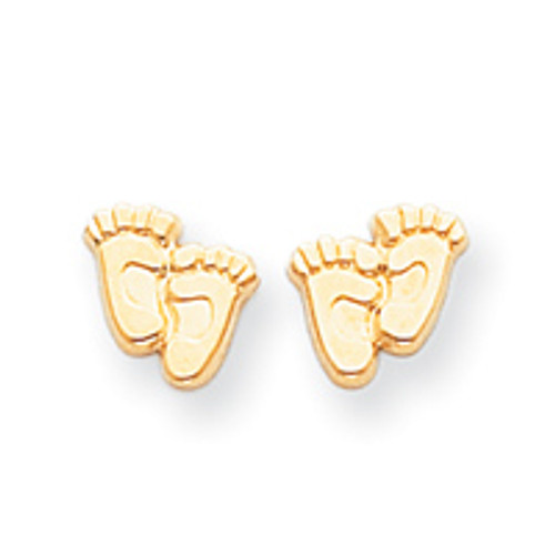 14KYG Right to Life Witness Earrings: CLEARANCE