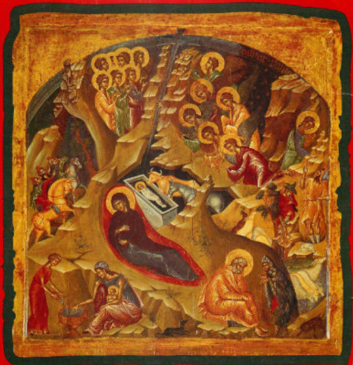 Nativity of Christ Icon- Icon VI