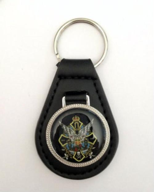 Dinarska Divizija Chetnik Leather Keychain
