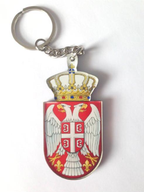 Serbian Crest (Grb) Acrylic Keychain