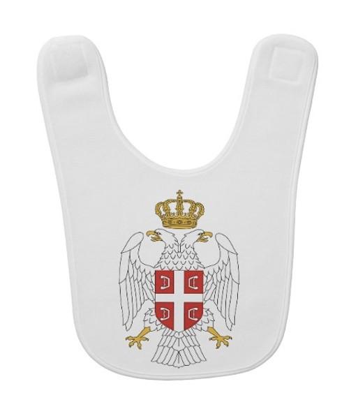 Serbian Grb Baby Bib
