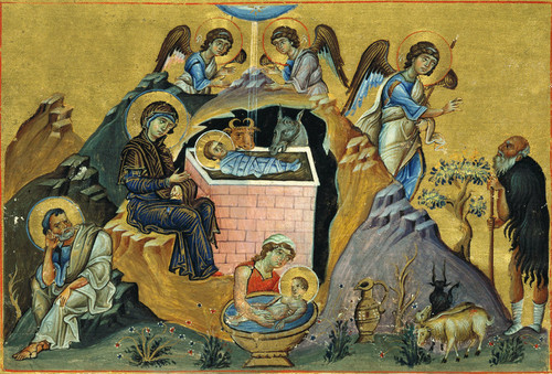 Nativity of Christ Icon- Icon X