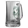 Beer Mug with Green Shield