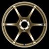 Advan RGIII - Racing Gold Metallic & Racing Gloss Black - 5x100, 5x114.3 - 6-Spoke - 17x7.5 +50, +48
