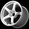 Advan GT 18x9.5 +22 - 5x114.3 - Semi-Gloss Black / Racing White