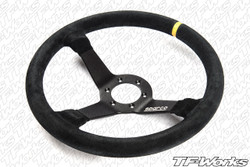Sparco Competition R 345 Steering Wheel - 350mm Dia. - Suede or Leather