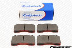 Carbotech AX6 Brake Pads - Front CT1001A - Mitsubishi Evo 10