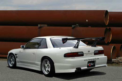 Charge Speed FRP Rear Bumper - Nissan Silvia CP 240SX S13