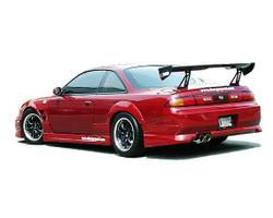 Charge Speed Zenki / Kouki FRP Rear Bumper - Nissan 240SX S14