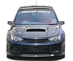 Charge Speed Carbon Fiber Hood w/ Vents - Subaru WRX STi GR
