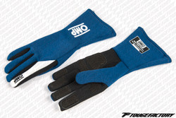 OMP ONE S Pre-Curved Racing Gloves FIA Approved