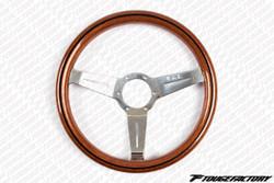 Nardi Classic 330mm Wood Grain Steering Wheel w/ Polish Spokes