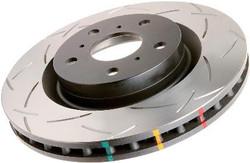 DBA Street Series Slotted Disc Brake Rotors - 89-96 Nissan 300ZX
