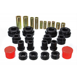 Energy Black Front Control Arm Bushings 32mm - 03-07 Infiniti G35, 03-09 Nissan 350Z