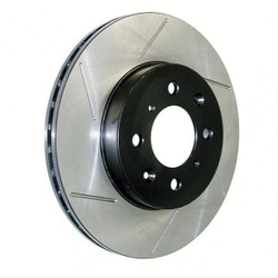 StopTech Front Right Slotted Brake Rotors - 03-06 BMW M3 E46