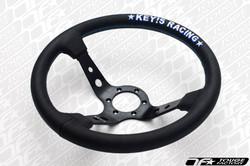 KEY'S RACING Deep Type Steering Wheel (330mm/Leather)