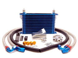 GReddy Oil Filter Relocation Kit w/ thermostat - 93-95 Mazda RX-7