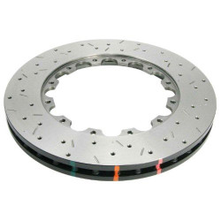 DBA 5000 Series Front Replacement Disc - 01-11 Subaru Impreza WRX STI