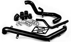 COBB Tuning Black Intercooler Hard Pipe Kit - Mitsubishi EVO X