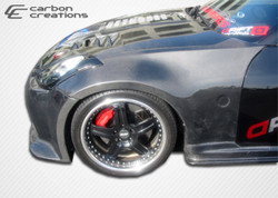 Carbon Creations 2-Piece OEM Fenders - 03-08 Nissan 350Z