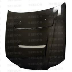 Seibon DVII-Style Carbon Fiber Hood - 99-01 Nissan Silvia S15