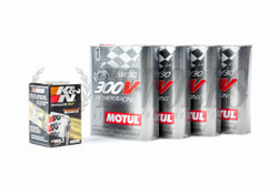 TF Oil Package - S550 Mustang 5.0 Motul 300V 5W30