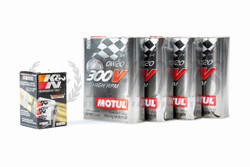 TF Oil Package - OEM - S550 Mustang 5.0 Motul 300V 0W20