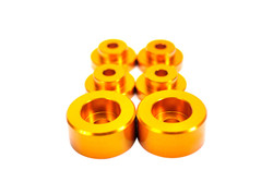 ISR Performance Gold Solid Differential Mount Bushings - Nissan S14/S15