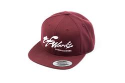 """TF-Works """"Splash"""" Snapback Hat - Maroon"""