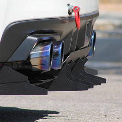 Velox  2015+ WRX and STI - Aggressive Rear Diffuser