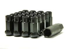 Wheel Mate Monster Open End Lug Nuts M14x1.50 (Set of 20) - Black