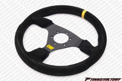 OMP Targa 330mm Flat Suede Steering Wheel