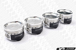 Manley Platinum Forged Pistons - Mitsubishi Evo 4G63 +.5mm (8.5:1 Compression)